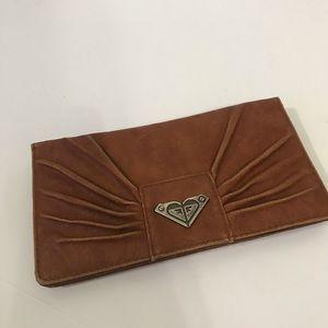 Roxy womens leather wallet